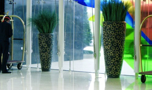Large Corporate Plant Pots