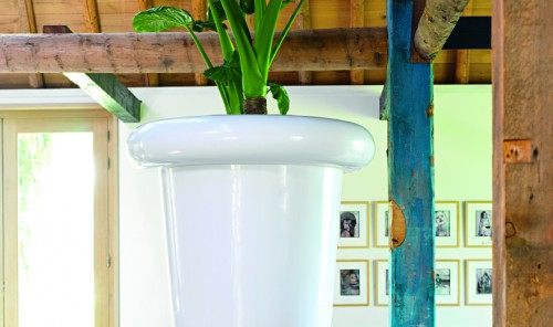 Jupiter White Planter