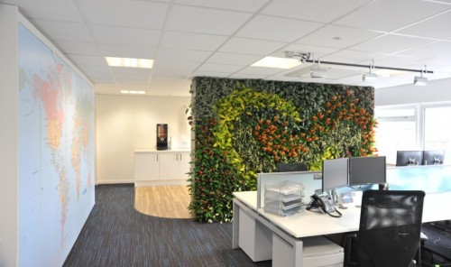 Living Office Wall